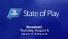 """索尼:最新一期""""State Of Play""""將于8月7日舉辦"""