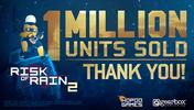 《雨中冒险2》推出不到一个月已卖出超100万份