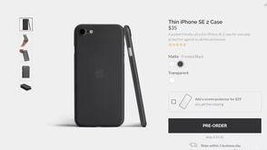 配件厂商上架iPhone SE 2手机壳、钢化膜等配件 展示SE 2大体外观设计