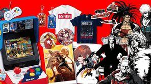 2018东京电玩展SNK展位贩售物品一览