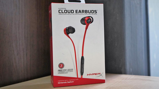 HyperX Cloud Earbuds 云雀入耳式耳機