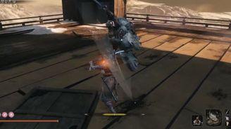《只狼》巨型忍者梟無傷擊殺