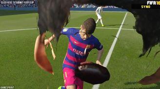 《FIFA》中的搞笑時刻