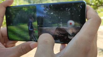 華為P30 Pro雙景錄像實拍