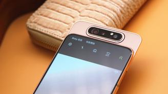 三星Galaxy A80图赏:颠覆传统的翻转式摄像头
