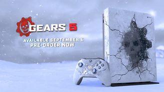 微軟公布《戰爭機器5》限定版Xbox One X和外設
