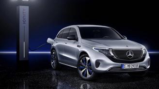 奔馳首款純電動SUV奔馳EQC將于今晚正式上市