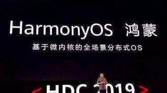 华为高管:6至9个月内决定是否将鸿蒙OS带到智能手机上