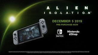 《異形:隔離》12月登陸NS平臺