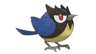 《寶可夢:劍/盾》圖鑒——稚山雀