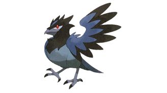 《寶可夢:劍/盾》圖鑒——藍鴉