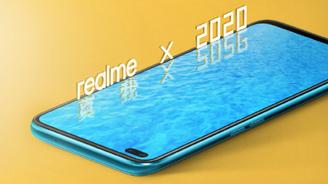 realme真我X50 5G正面照公布:雙打孔屏設計