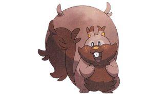 《寶可夢:劍/盾》圖鑒——藏飽栗鼠
