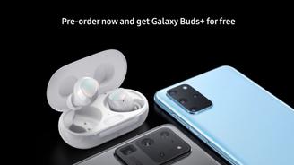 三星Galaxy S20+/S20 Ultra預售海報曝光!預訂免費送Galaxy Buds+