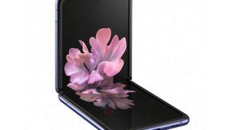 三星折疊屏幕手機 Galaxy Z Flip 高清渲染圖曝光
