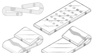 三星新專利可讓手機實現雙折疊