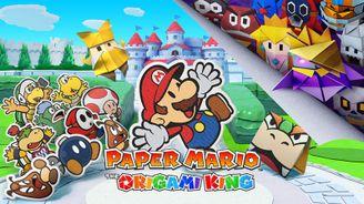 《纸片马力欧:折纸国王》最新实机演示