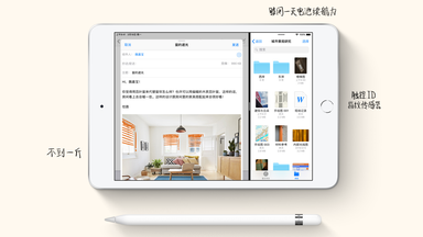 新版10.5英寸iPad air与iPad mini5