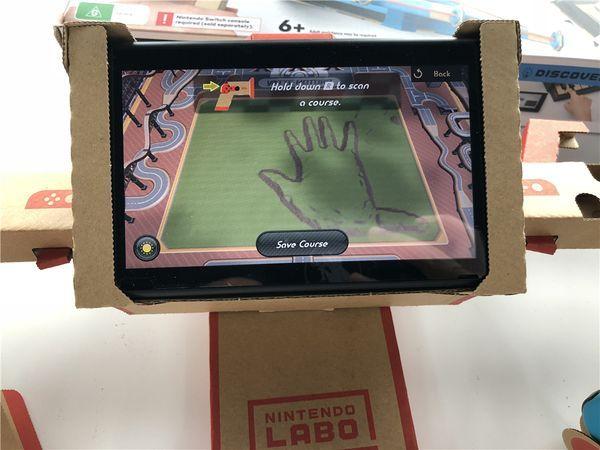 Nintendo Labo開箱與試玩 質感與設計并存