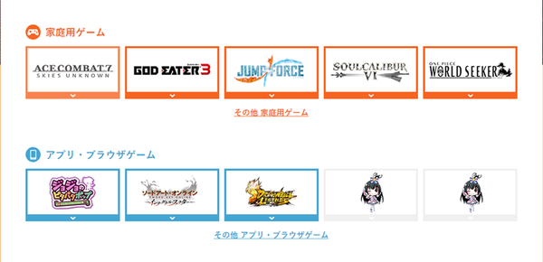 萬代南夢宮公布2018東京電玩展參展游戲陣容