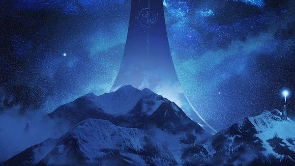 《光环:无限》公开新概念艺术图 星夜雪山奇景