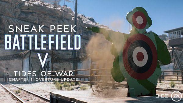 《战地V》12月更新将调整武器平衡性和UI界面