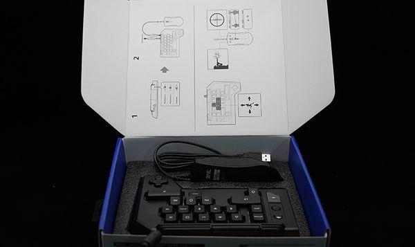 PS4平臺最強物理外掛來襲 HORI TAC KEYPAD-TYOE K2鍵鼠評測