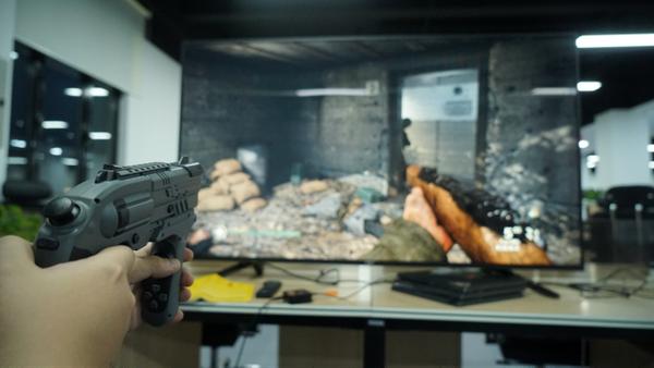 全平台枪型控制器X-Rover沙漠之狼开箱体验