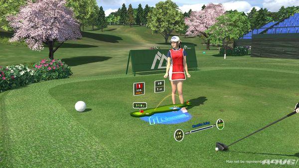 《大众高尔夫VR》试玩报告 挥杆精确度还有待提高