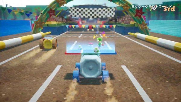 《耀西的手工世界》發布5分鐘游戲介紹預告片
