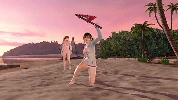 《死或生 沙灘排球3:緋紅》評測:獨占VR天堂是唯一賣點