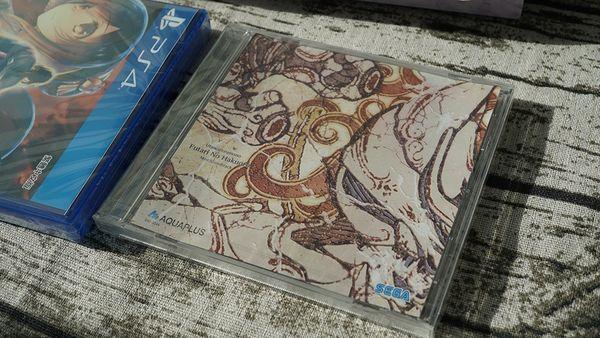 《受贊頌者-二人的白皇》特別限定版開箱