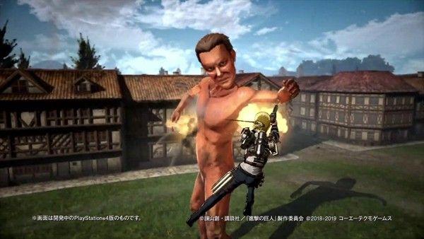 《进击的巨人2:最终之战》发布两段实机演示