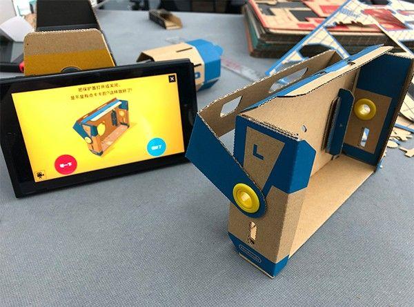 """從懷疑到深深著迷 談任天堂Labo VR的""""硬盒""""樂趣"""