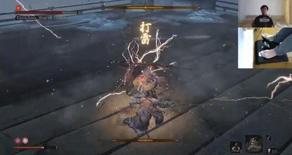 腦洞玩家使用方向盤擊敗《只狼》強大BOSS