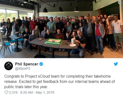 微軟云游戲服務xCloud達成開發里程碑