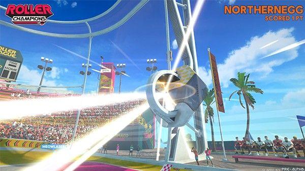 "E3育碧《冠軍沖刺》試玩:輪滑場上的6人""橄欖球"""