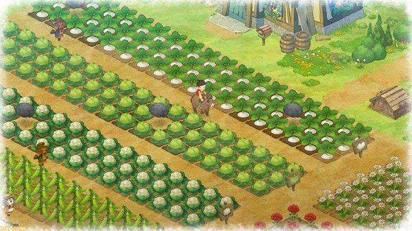 《哆啦A夢:大雄的牧場物語》評測:享受自由牧場生活