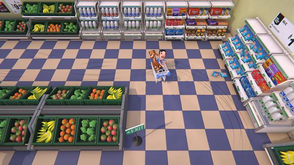 《超市尖叫購物車》E3試玩報告 充滿尖叫的游戲