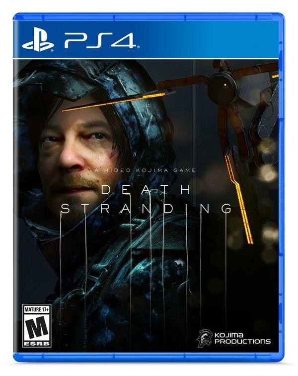 小島秀夫公布了《死亡擱淺》游戲鐵盒封面圖