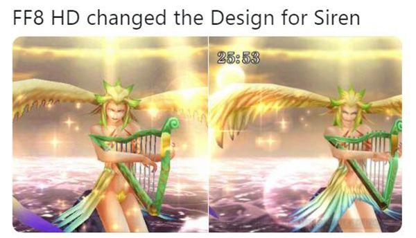 《最終幻想8:高清版》被玩家發現多處和諧要素