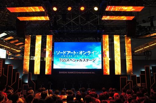 《刀剑神域》TGS展台活动报告:透露游戏与动画新情报