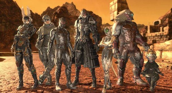 《最終幻想14》公布尼爾聯動副本多張新截圖