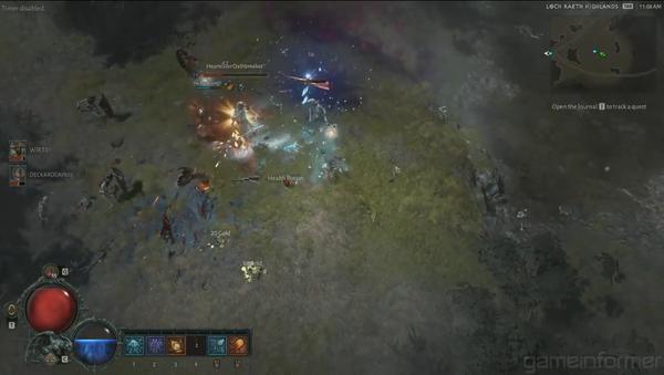 《暗黑破壞神4》巫師最新試玩 操縱元素火力全開