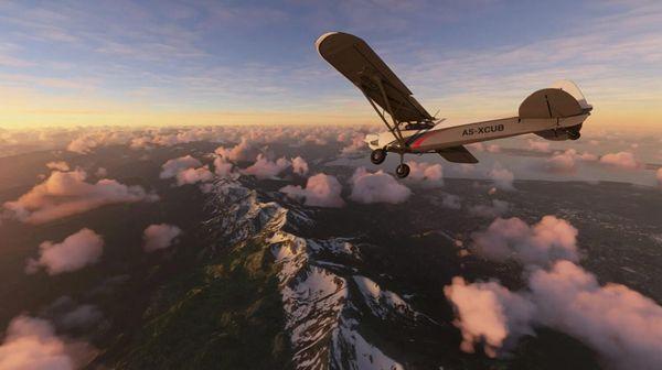 《微軟飛行模擬器》公布最新截圖 栩栩如生的世界