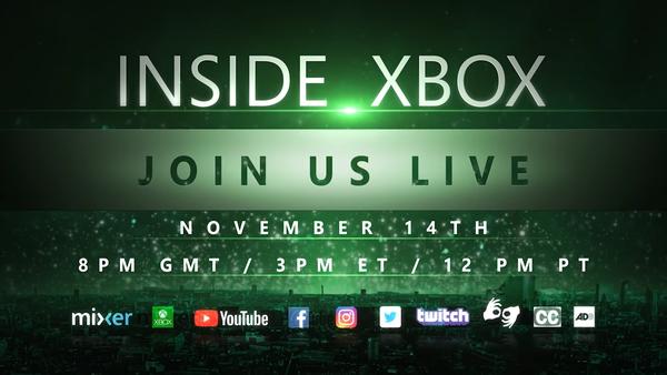 X019宣傳片公開 史上最強一期Inside Xbox來臨