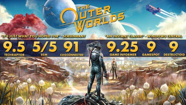 黑曜石官方表示《天外世界》DLC將于2020年推出