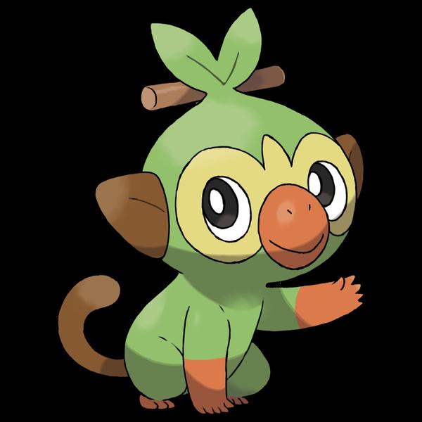 《寶可夢:劍/盾》圖鑒——啪咚猴
