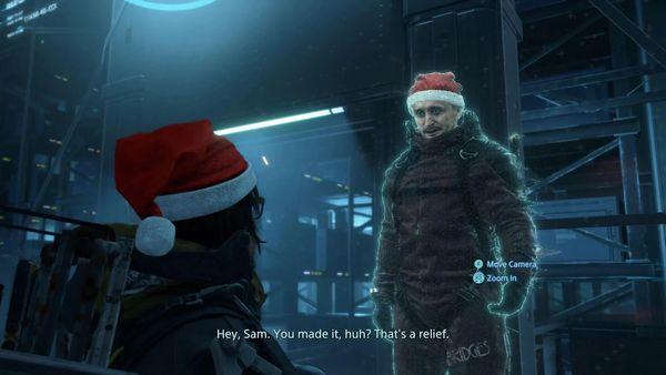 山姆戴上小紅帽,盤點近年知名游戲中的圣誕節彩蛋