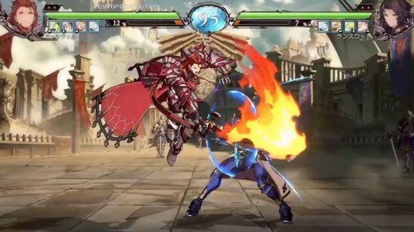 《碧蓝幻想Versus》兰斯洛特对帕西瓦尔试玩演示